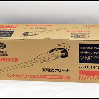 未使用 マキタ 14.4V CL141FDRFW 充電式ク…
