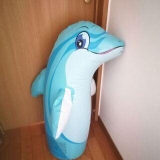 サンドバッグ イルカ 子供用