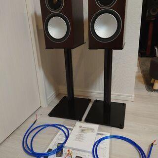MonitorAudio製スピーカーSilver1+TAOC製ス...