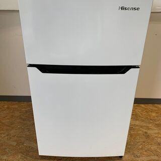 【Hisense】ハイセンス 2ドア 冷凍 冷蔵庫 容量93L ...
