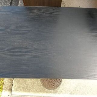 折りたたみテーブル 黒