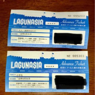 ラグナシア入園券