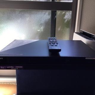 ソニー HDDレコーダー 1T新品に換装済み