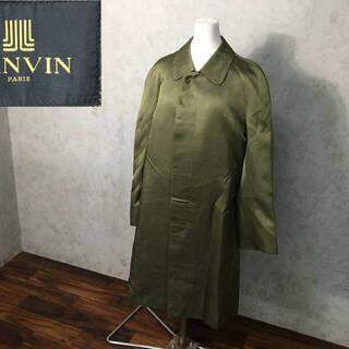 ⭕⭕⭕PH2/57 LANVIN 絹混毛 ウール ステンカ…