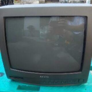 無料 古いテレビ SANYO C-14D8