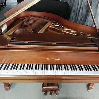 カワイグランドピアノ  3本ペダルおとの深みいい感じ。お値…