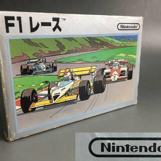 ⭕⭕⭕PR1/90 ファミコン F1レース 箱.取説付き ソフト...