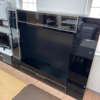 テレビ台 壁面収納付テレビ台 50V型対応 幅240cm (40...