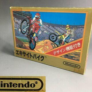 ⭕⭕⭕PR1/89 ファミコンソフト エキサイトバイク 任天堂 ...