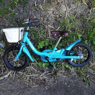 People自転車 14インチ 水色