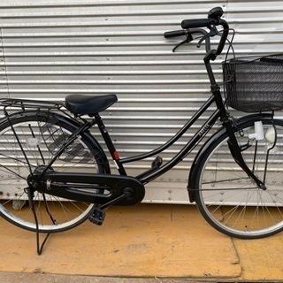 美品 26インチ自転車 ブラック