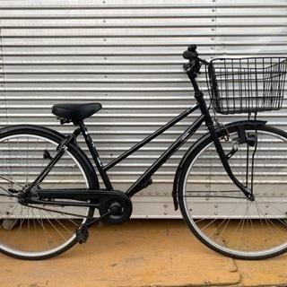 美品 27インチ自転車 ブラック