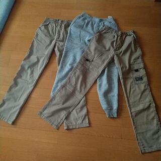 【150cm160cm】長ズボン3枚セット