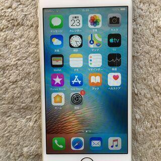 iphone6 silver 16GB バッテリー90% とっても美品