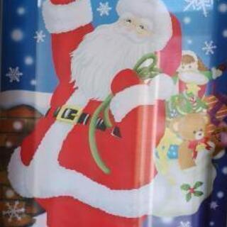 ◆未使用品◆ 特大 サンタクロース タペストリー