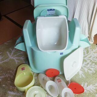 簡易トイレ アロン化成 ポータブルトイレ DX型 他 尿瓶…
