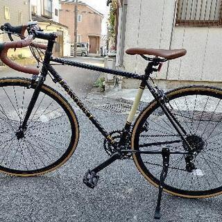 【ネット決済】クロモリ/ロードバイク