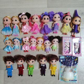 【ネット決済】かわいい人形、コスチューム、家具等、ウッドクラフト...