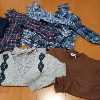 【ネット決済】まとめ売り 男の子服100~120センチ
