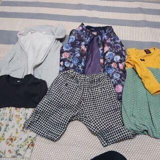 110くらい 女の子 秋物服