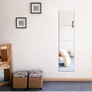 【ネット決済】【新品】割れにくい貼る鏡 26×26 8枚セット