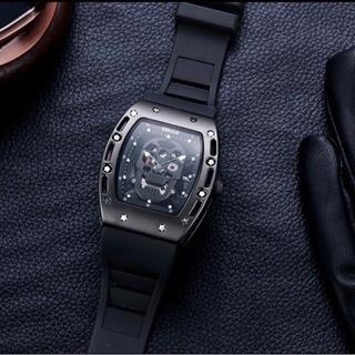 海外輸入 高級腕時計 スカル リシャールミルタイプ