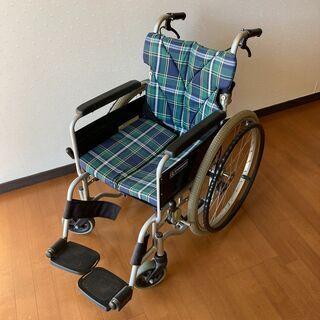 KAWAMURA カワムラ 自走式 車いす 車椅子 折りた…