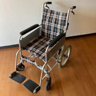 マキライフテック 自走式 車椅子 車イス アルミ製 背折れ…