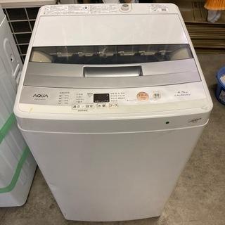 AQUA 4.5kg洗濯機 18年製