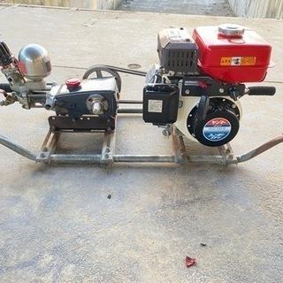 ★丸山MS310 ヤンマーエンジンGA120 高圧洗浄機/動噴★