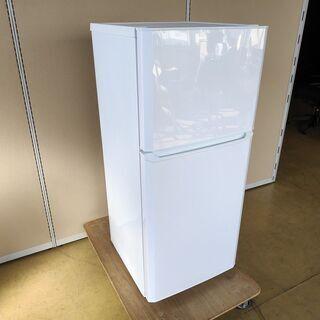 ハイアール JR-N121A 2ドア冷蔵庫『美品中古』2017年