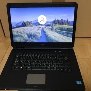 NEC製ノートパソコン core i3+SSD搭載 Window...