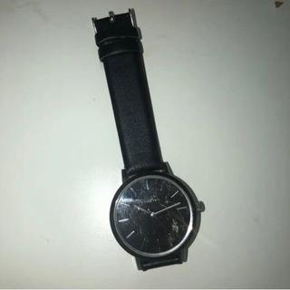 【ネット決済・配送可】FINANO大理石調 腕時計 レディース
