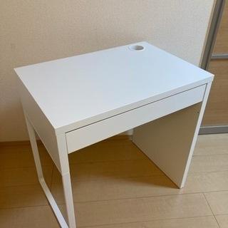 【ネット決済】【値下げ】IKEA デスク MICKE ミッケ 白...