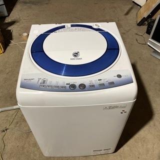 SHARP 洗濯機 7kg  格安で!