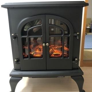 山善 暖炉型ヒーター