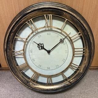 【飾り用】アンティーク風時計