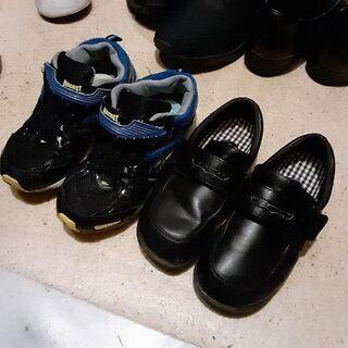 子供靴19.5センチと21センチ
