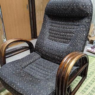 リクライニング回転椅子