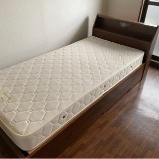 82セット ベッド マットレス シングル 寝具