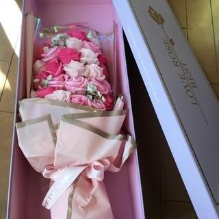 花束 造花 ソープフラワー ピンク