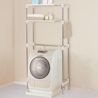 ニトリ ステンレス洗濯機ラック グラン