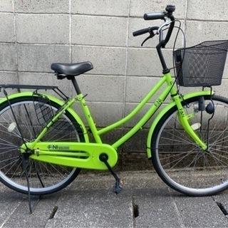 【整備済自転車】26インチ 変速なし 美品❗️シティサイク…