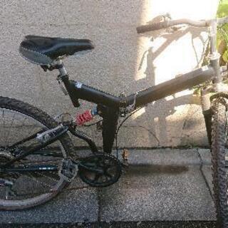 折りたたみ自転車 ジャンク