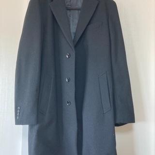 黒 ステンカラーコート G U  Lサイズ