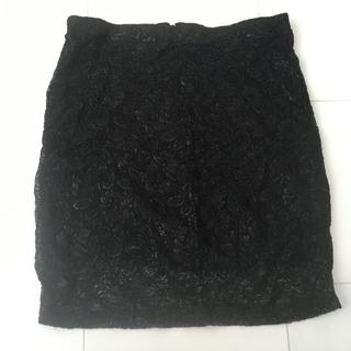H&M レースタイトスカート