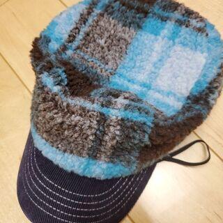 新品タグ付き 赤ちゃん冬用帽子 S(48~50)