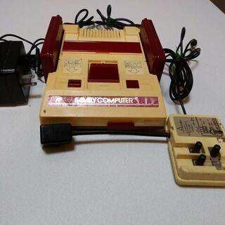 ② ジャンク品 初代ファミコン Nintendo 任天堂 ファミ...