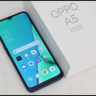 美品 OPPO A5 2020 グリーン 4GB/64GB CP...