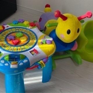Bumbo, 知育玩具、ガラガラ等